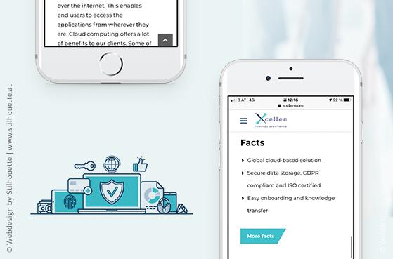 Responsive Webdesign für Xcellen von Studio Stilhouette