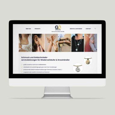 Webdesign für Garschal Schmuckmanufaktur
